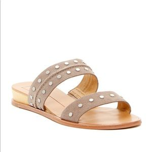 Dolce Vita Studded Suede Pacey Sandals